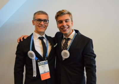Nikita och Erik priser på Intel ISEF 2018