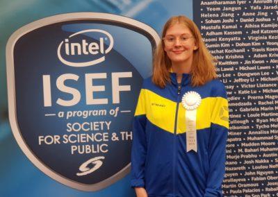 Rebeckas vinst på ISEF 2019