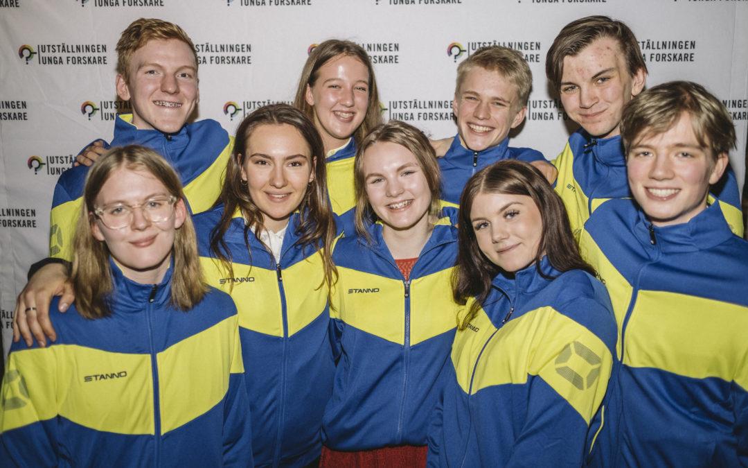 PRESSMEDDELANDE: Succéår för Sveriges Unga Forskningslandslag – sex priser på tre av fyra internationella tävlingar